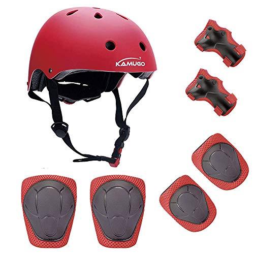 Casco niños Rodilleras 2-10 bici skate