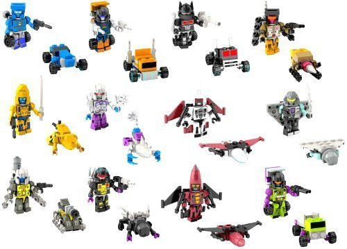 Preisvergleich Produktbild Kreon: Transformers Micro-Changers Series 3 - Complete set of 12 by Transfprmers