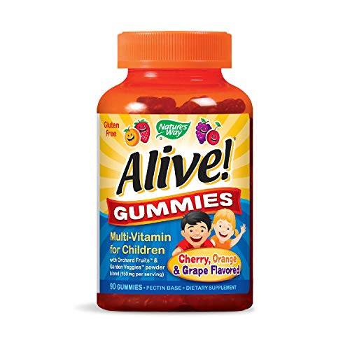 Nature 's Way Alive. Premium Gummitiere für Kinder - Bio-vitamin-d-gummies