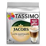 Tassimo Latte Macchiato Vanilla, Café, Vanille Lait Café Capsules Café, Café, 80T torréfacteur Moulus Disques/40portions