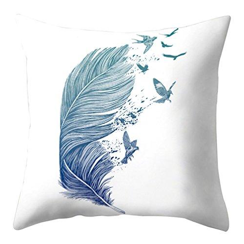 Quietcloud Funda de cojín con diseño de dibujos animados y atrapasueños, para decoración del sofá