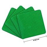 LVHERO 4 Kompatibel mit Große Bauplatte Lego Duplo, Kreatives Vorschulspielzeug, Grün