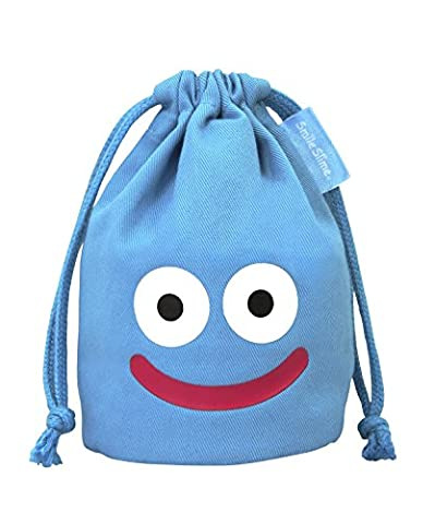Dragon Quest smile slime mini DrawString bag blue by Square Enix