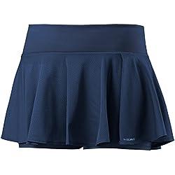 Falda-pantalón corta para mujer, de HEAD, mujer, color azul marino, tamaño S