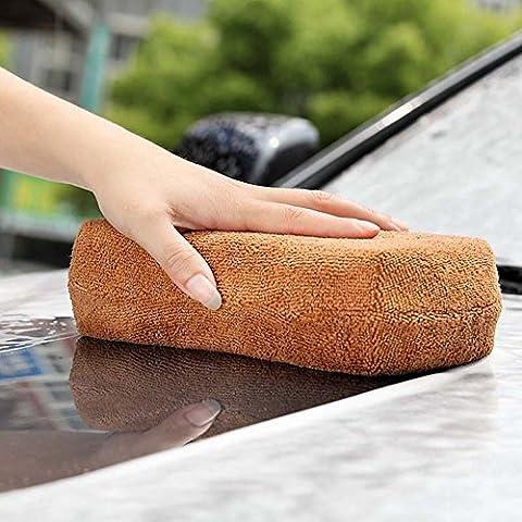 Y & B Corail à poils long automatique en microfibre lavage de voiture éponge
