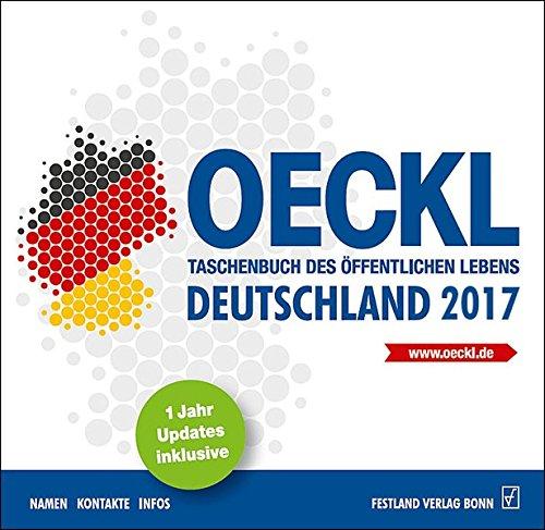 OECKL. Taschenbuch des Öffentlichen Lebens - Deutschland 2017 - CD-ROMWindows. 1 Jahr Update inklusive