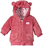 Twins Baby Girls Hooded Fleece Jacket