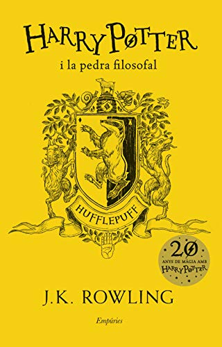 Harry Potter i pedra filosofal Hufflepuff SERIE HARRY