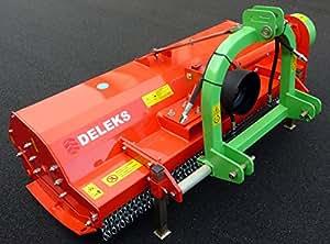 trinciatrice spostabile professionale a mazze 200cm di taglio concardano B5 100cm con sicurezza incluso - TIGRE-200