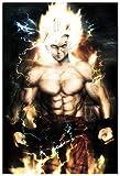 Goku Fire Wall Poster