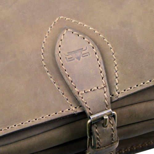 Mika Sac bandoulière cuir 32 cm braun-glatt