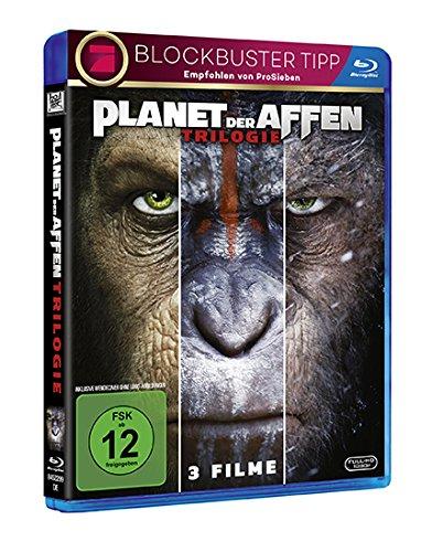 Planet der Affen Triologie [Blu-ray]