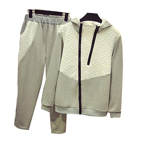 Mme WS @ WX1023 Costume De Sport De Loisirs De La Mode Grey