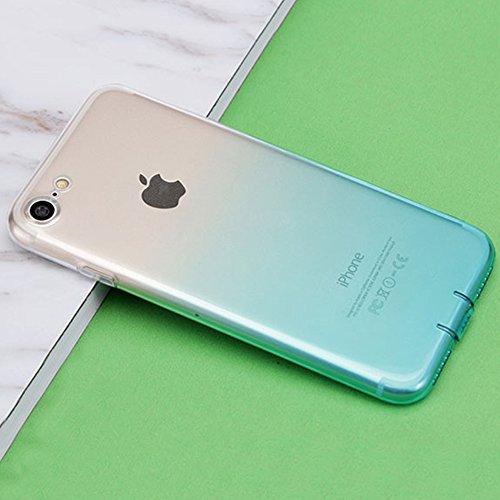 MicBridal® coque TPU pour Apple iphone 6plus, iphone 6splus coque transparente Silicone ultra fine case étui Housse Protecteur cover écran 5,5 pouces Rose 7/7Plus Minze