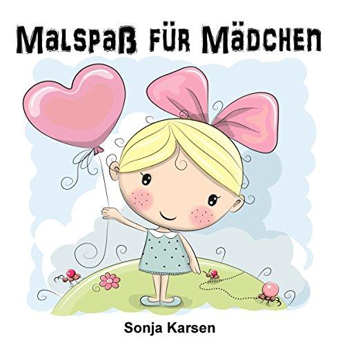 Tablet Mädchen (Malbuch - Mädchen: Malspaß für Mädchen (Erstes Malbuch, Kinder ab 2 Jahren, Mädchen, malen, kreativ))