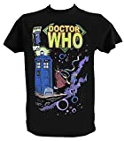 Generico T Shirt Doctor Who, Tardis, Serie TV, Fantasy, Uomo - M