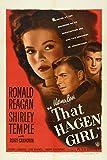 That Hagen Girl Movie Poster (27,94 x 43,18 cm)