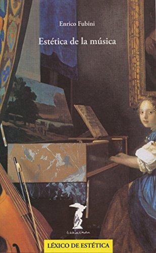 Estética de la música (Balsa De La Medusa) por Enrico Fubini