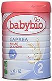 Babybio Caprea 2 au Lait de Chèvre Bio 6 / 12...