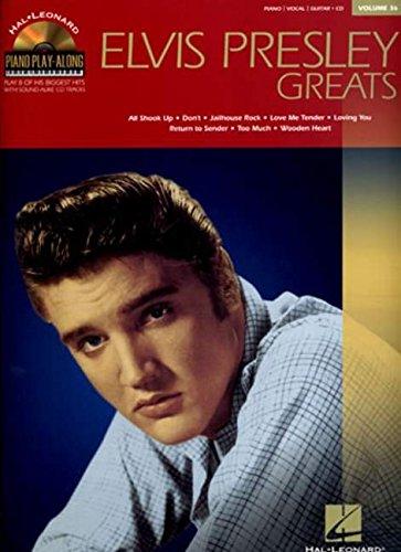 Piano Play-Along Vol.036 Elvis Presley Greats + Cd