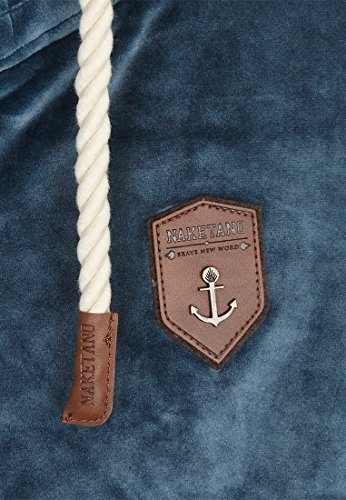 Naketano Male Zipped Jacket Ivic Mack IV Steel