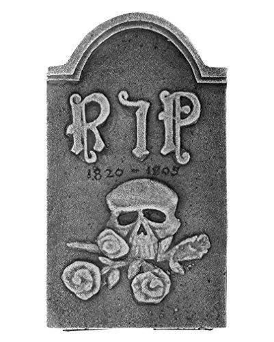 Grave RIP pietra con Skull and Rose