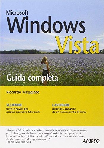 Windows Vista. Guida completa por Riccardo Meggiato