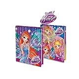 Winx Diario Scolastico NT 10 Mesi Formato A5 Standard (Viola Singola)