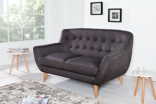 Sofa: Invicta Interior 36548 Sofa Scandinavia II 2er