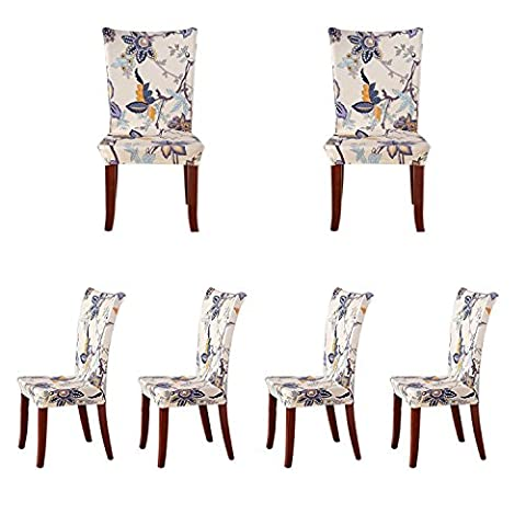 Rideaux Largeur 42 Cm - Pack de 6 housses de chaises à