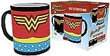 DC Comics Comics, Wonder Woman costume, calore cambiamento tazza, ceramica, varie, 15x 10x 9cm