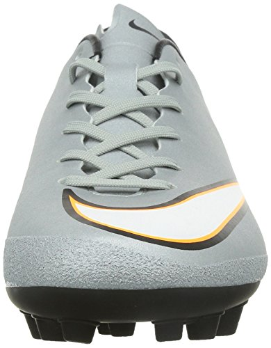 Nike Mercurial Victory V CR7 AG-R Herren Fußballschuhe Silber (Metallic Silver/Black-Hyper Turquiose-Black 003)