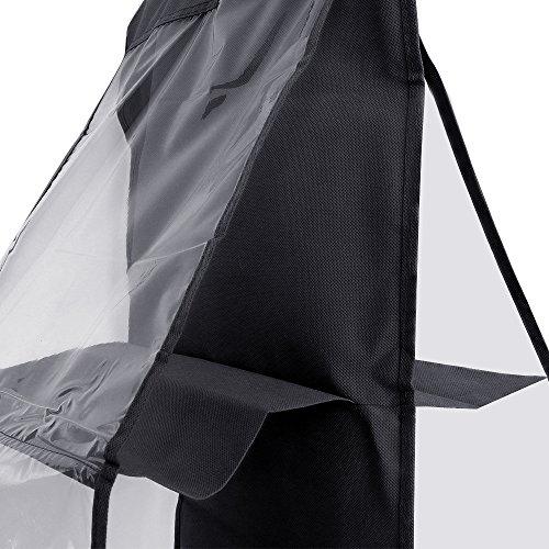 Dreamtop 6 Pockets Handbag Storage Bag Pouches - Clear