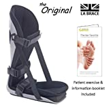 LA Brace® Plantar Fasciitis Night Splint (Small UK 3-5) - Including Dorsiflexion Toe Wedge | Lycra Lined Foam Padded | Achilles Tendonitis , Plantar Fasciitis Overnight Treatment