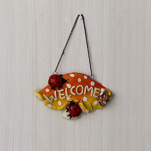 Señales de bienvenida de la puerta Mushroom Hanging Welcome ...