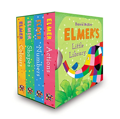 Elmer's Little Library par David McKee