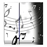 Disagu Design Skin for Sony PS4 Liegend + Controller - Motif Musik