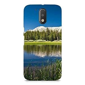 Hamee Designer Printed Hard Back Case Cover for Motorola Moto Z Play Design 2209