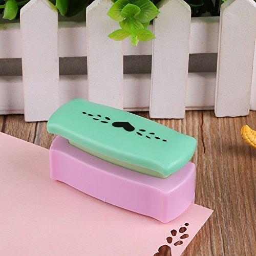 schöne Blumen-Form Handwerk Punch DIY Papierschneider handgemachtes Geschenk (Herz mit Wassertropfen) ()