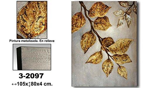 donregaloweb-cuadro-lienzo-al-oleo-pintado-a-mano-con-pintura-metalizada-y-relieve-y-decorado-con-ho