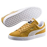 PUMA Suede Classic Honey Mustard-Puma White 7.5