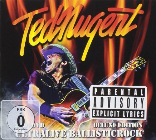 Ultralive Ballisticrock (2cd + Dvd) by Ted Nugent (2013) Audio CD