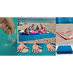 Toalla playera resistente a la arena para que pases un verano libre de estrés, para los que les gusta estar siempre limpio, de 200x 150 cm