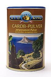 BioKing 3 x 500g BIO CAROB-Pulver, Johannisbrot-Pulver (EUR 5,49 / Dose)