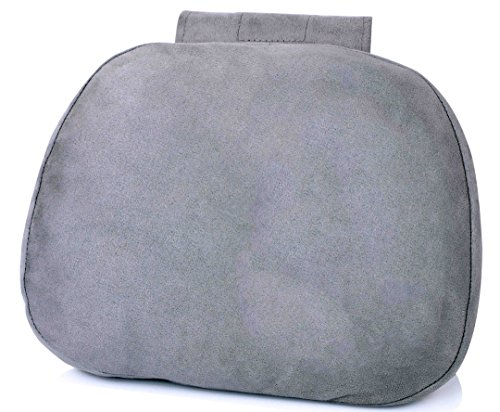 Preisvergleich Produktbild weiche Kissen Auto Nackenkissen–Mikrofaser Kopfstütze Schmerzlinderung für Fahren