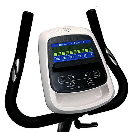 HAMMER PRO LINE Ergometer HX7, mit einer Leistung von 40-250 Watt, einem tiefen Einstieg für leichtes Aufsitzen und rutschsicheren Pedalen - 3