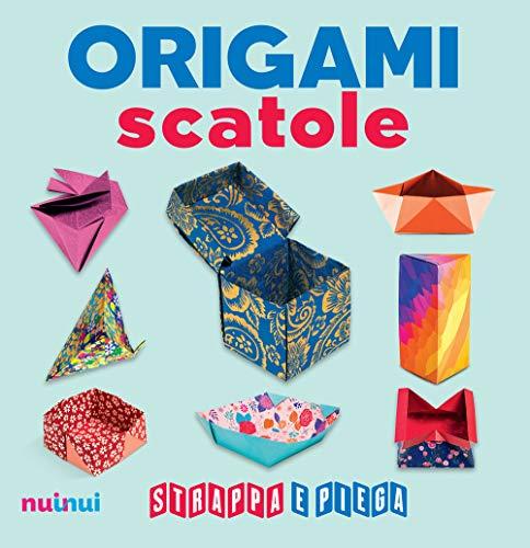 Origami scatole. Strappa e piega. Con Contenuto digitale per accesso on line