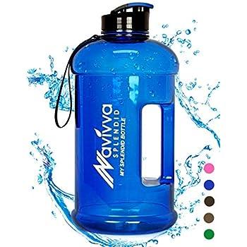 Sport Trinkflasche Groß - 2.2 L Fitness Wasserflasche