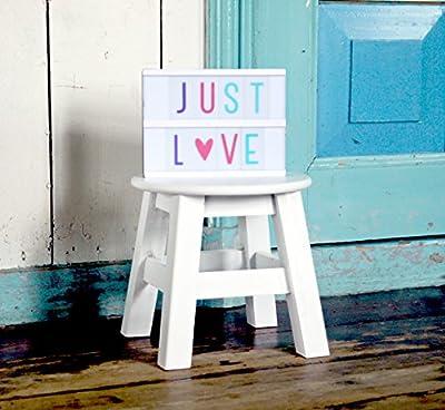 Lightbox letter set: Pastel von A little lovely Company