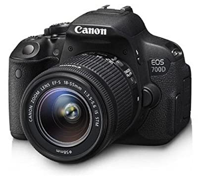 Canon EOS 700D 18MP Digital SLR Camera (Black)